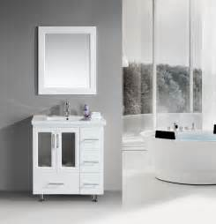 Design Bathroom Vanity by Stanton 32 Inch Contemporary White Bathroom Vanity Set