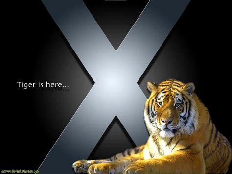 wallpaper mac tiger mac os x tiger wallpapers wallpaper cave