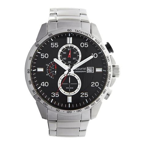 accurist s chronograph mb1027b watches from