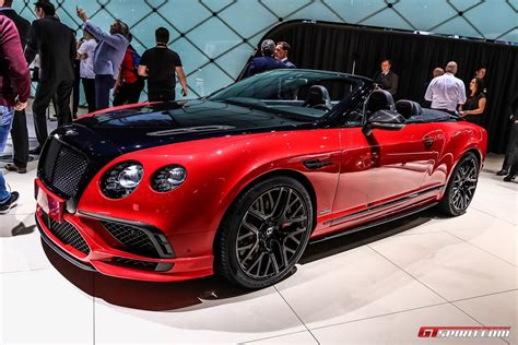 Bentley Continental Supersport Convertible geneva 2017 bentley continental supersports coupe
