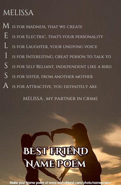 best friend acrostic poem 17 best images about name poems on best friend