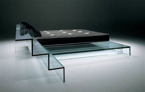 glass bedding glass furniture by santambrogio milano could this be a
