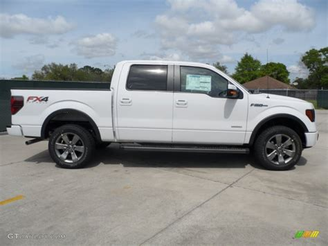 2012 ford f 150 fx4 ecoboost white crew cab 20 inch wheels f 150 photo oxford white 2012 ford f150 fx4 supercrew 4x4 exterior