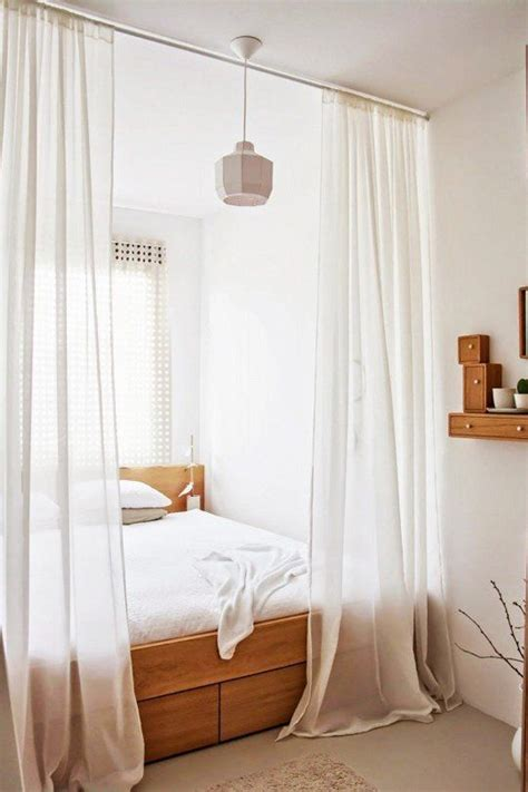 off white drapes 25 ways to use curtains as space dividers digsdigs
