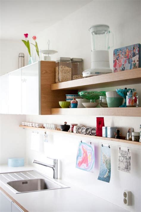 floating kitchen shelves 19 floating shelves ideas for a beautiful home