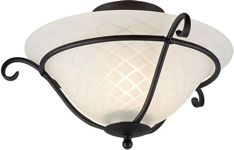 Black Wrought Iron Ceiling Lights Torchiere Black Wrought Iron Flush Ceiling Light Uk Made Tch F Blk