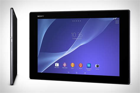 Tablet Sony Xperia P sony digital paper uncrate