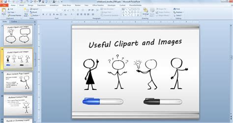 powerpoint presentation templates for art awesome whiteboard symbols powerpoint templates for