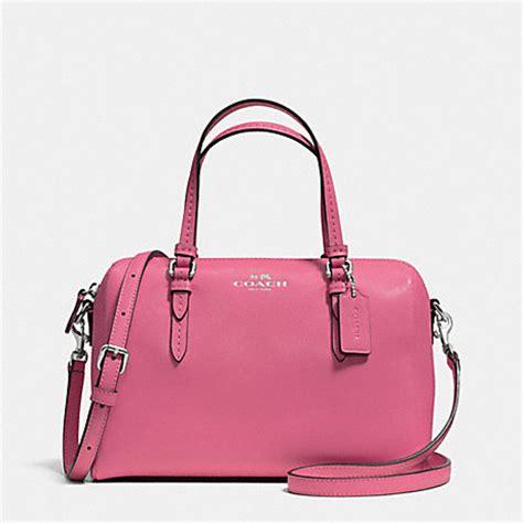 Jual Tas Coach Mini Bennet Blue Sky Black Original Asli 1 coach f50430 peyton mini satchel silver coach handbags
