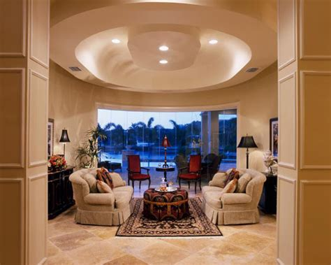 luxury false ceiling designs for living room from gypsum