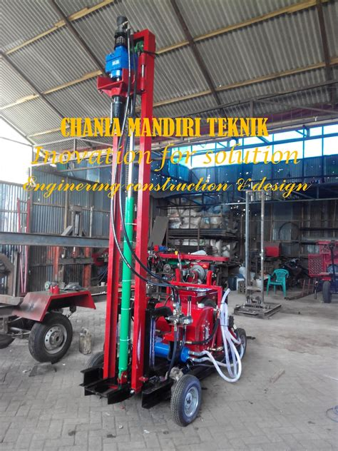 Mesin Bor Portable Multi Guna mesin sumur bor mesin bor sumur hydrolik