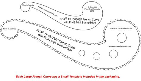 pca templates french curves craft supplies