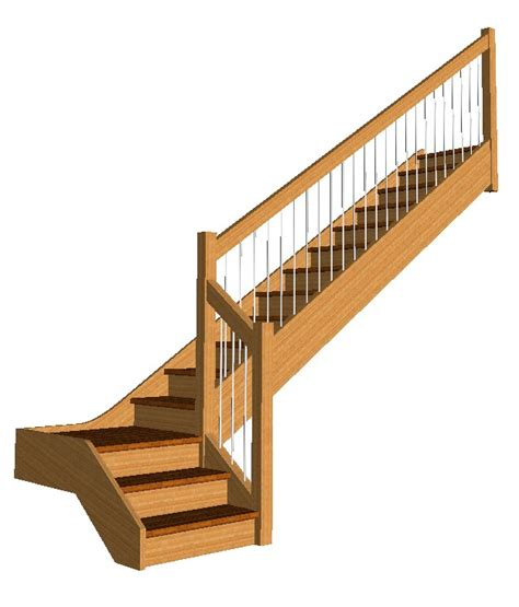 Turning Staircase by Free Stair Models Stair Design Software
