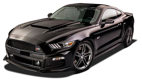 ford car png stylish black ford roush rs mustang car png image pngpix