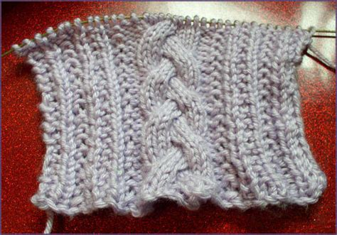 fancy scarf knitting patterns trish knits fancy cabled braided scarf
