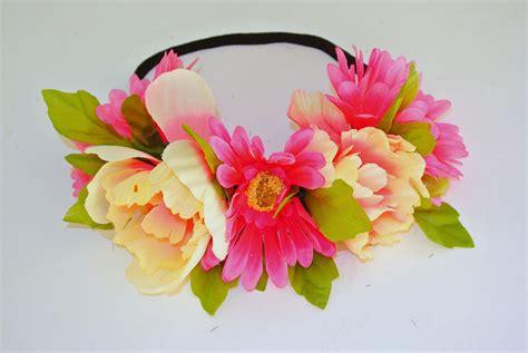 How To Make Handmade Headbands - with tutorial diy flower headband crown