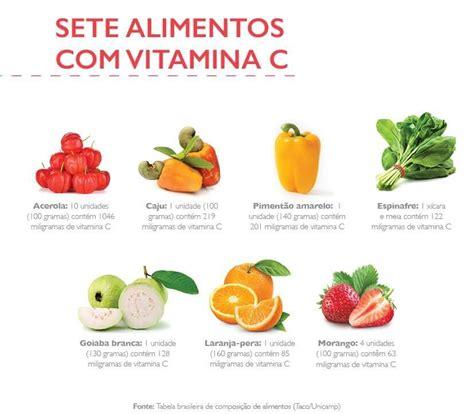 que alimentos tienen vitamina e vitamina c para que serve benef 237 cios alimentos comprimido