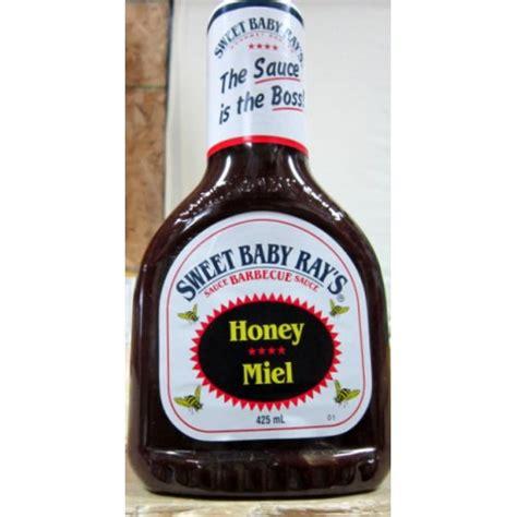 sauce sweet baby ray s brand bbq sauce honey flavour