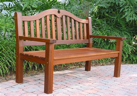 bench made from chairs wood outdoor furniture from boonedocks trading company
