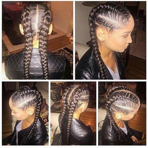 two braids simple and u0027s hair best 25 black braided hairstyles ideas on