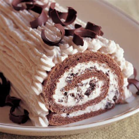 Rolled Chestnut Cream Cake   Williams Sonoma
