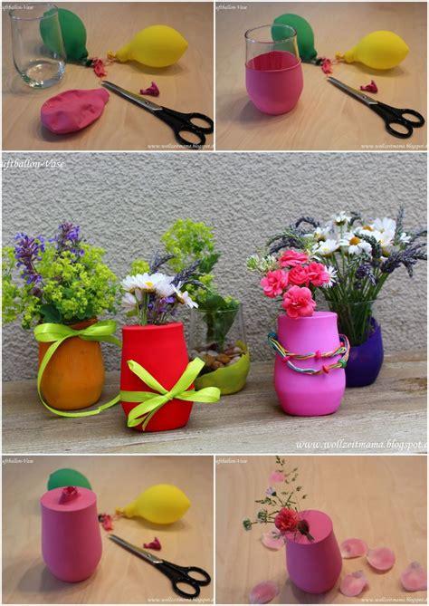 Tischdekoration Selber Machen by Diy Bunte Luftballon Vasen Kleine Tischdekoration Schnell