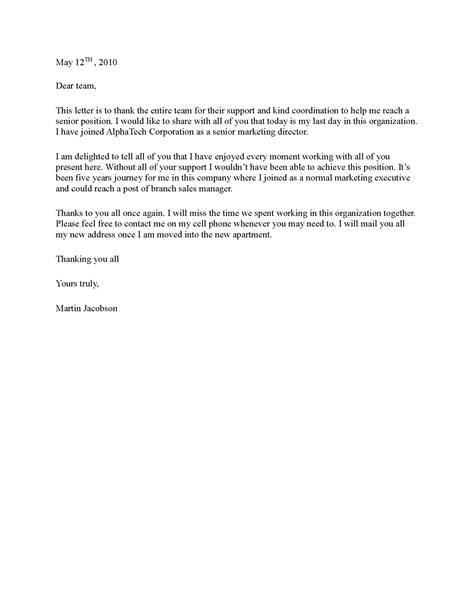 thank you letter to on farewell goodbye letter template 28 images goodbye letter sle