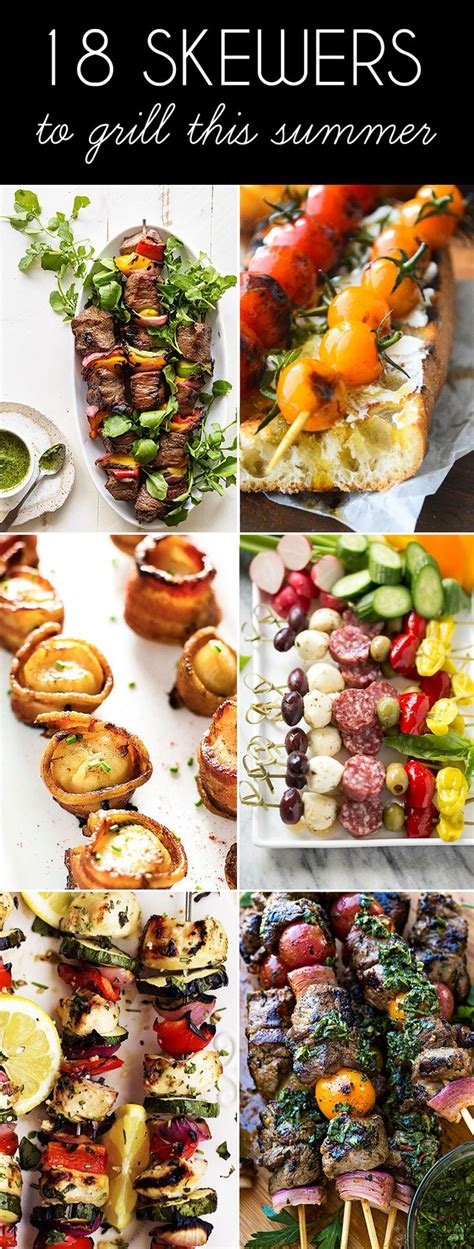 summer on a stick welcome grilling season with these 18 25 best ideas about bbq skewers on pinterest skewers