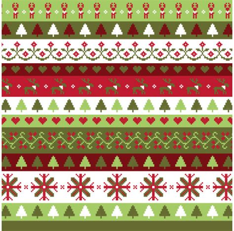 patterns free christmas cartoon christmas pattern seamless vector free vector in