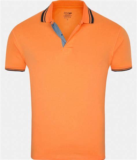 Polo T Shirt 1 zovi orange polo t shirt buy zovi orange polo t shirt