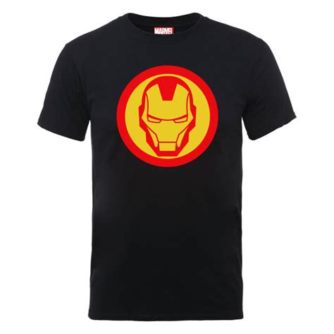 Rate Symboldenim Shirt marvel assemble iron simple symbol s t shirt black merchandise zavvi