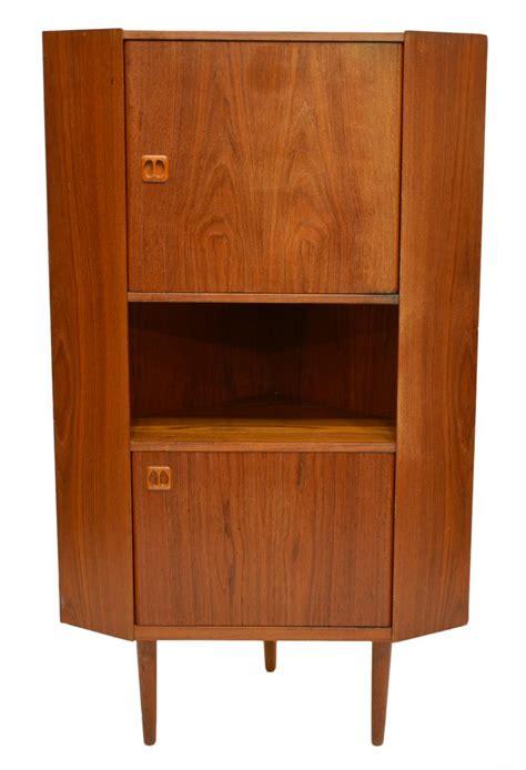 mid century modern corner cabinet mid century modern teak corner cabinet june