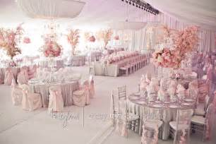 pink wedding decorations decoration