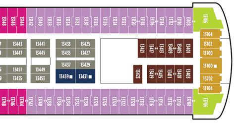 Carnival Room Map by Cruise Deck Plan Database And Pictures
