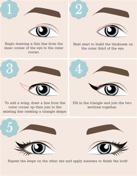 Viva Shape Liquid Eye Liner Black Eyeliner Hitam Cair tutorial eyeliner cat eye yang sesuai dengan bentuk matamu