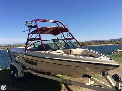 malibu sunsetter boats for sale 2000 used malibu sunsetter vlx ski and wakeboard boat for
