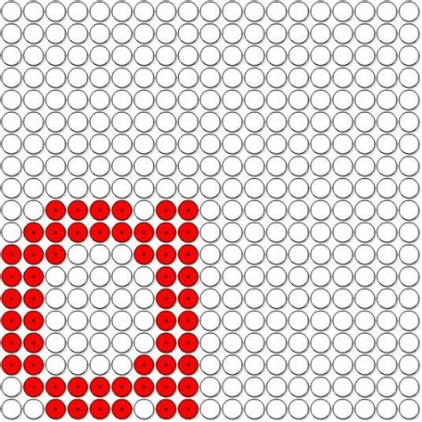 perler bead letters a alphabet perler bead pattern crafts and such