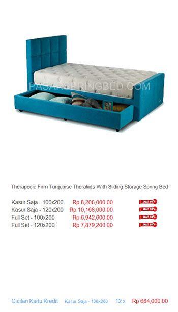 Matras Bigland Di Padang therapedic jakarta harga bed termurah di indonesia