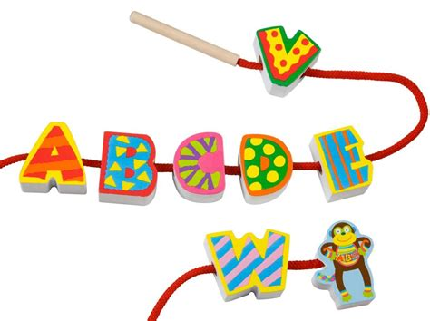 String Alphabet - alex toys string my abc s toys