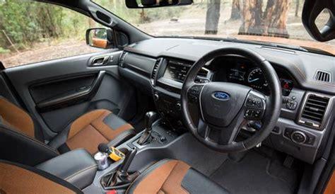 Ford Ranger Interior by 2018 Ford Ranger Wildtrak Reviews Specs Interior
