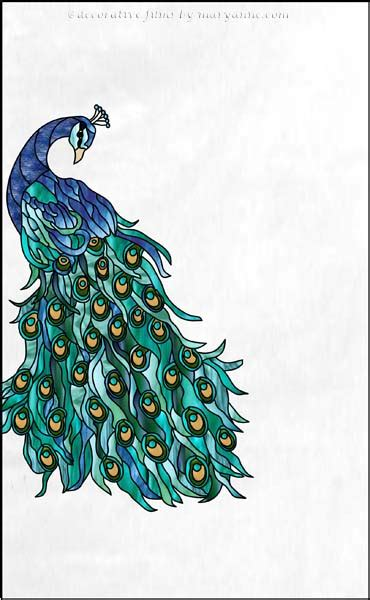 peacock stained glass l stained glass window peacock pixshark com