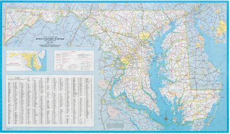 maryland broadband map file maryland state highway map 1980 pdf wikimedia commons