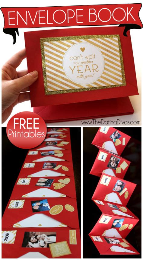 new year gift envelope envelope memory book envelope book and