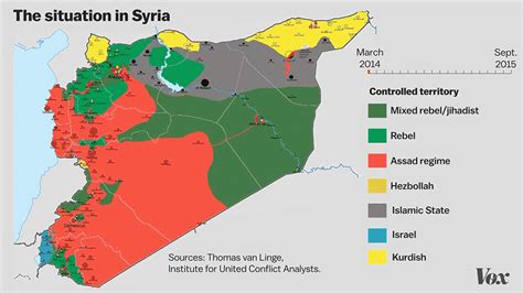 syria map the syrian refugee crisis in 4 maps and charts vox