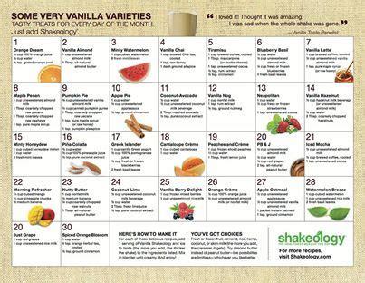 Delicious Vanilla Shakeology Recipes   Jessica Bowser