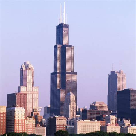 sears tower the distance between navy pier sears tower usa today