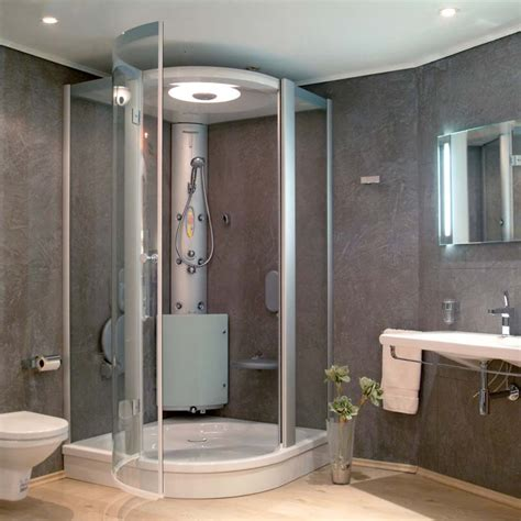 bathroom shower unit showers shower units bathrooms plus