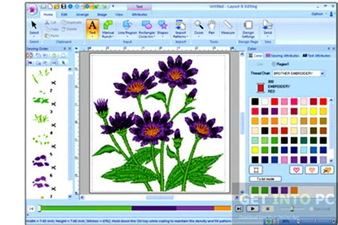 embroidery pattern maker software free pe design 6 embroidery software free download