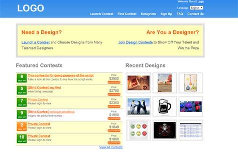 Design Contest Script | design contest script 99 clone scripts