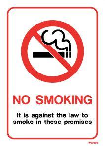 no smoking sign up mirror printed self adhesive no smoking sign with text